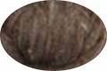HomeSpun Carded Wool Roving -- Heather Brown