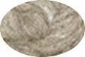 HomeSpun Carded Wool Roving -- Heather Gray