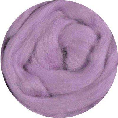 Fine Merino Wool Roving -- Lilac