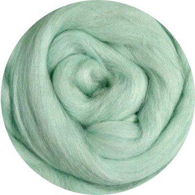 Fine Merino Wool Roving -- Mint