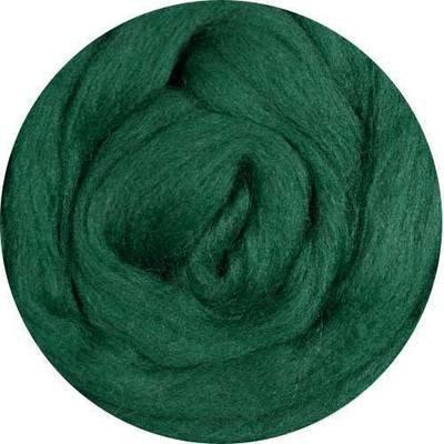 Fine Merino Wool Roving -- Pine