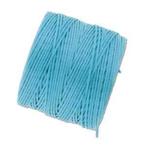S-LON Superlon Bead Cord -- Aqua
