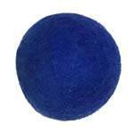 25-30mm Felt Bead -- 10. Blue