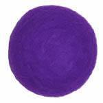 25-30mm Felt Bead -- 13. Purple