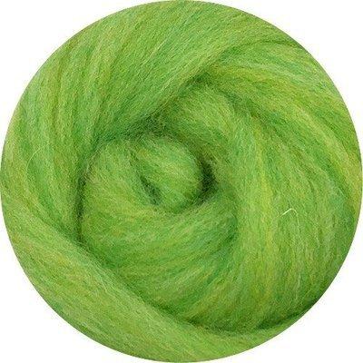 EcoSoft Wool Roving -- Kiwi