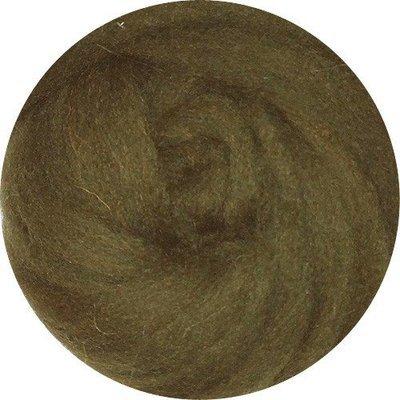 EcoSoft Wool Roving -- Oregano