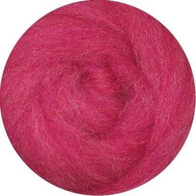 EcoSoft Wool Roving -- Rhubarb