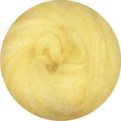 EcoSoft Wool Roving -- Sweet Corn