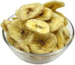 Organic Banana Chips 100g