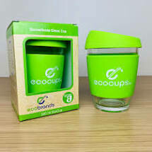 Glass Eco Cup 340ml