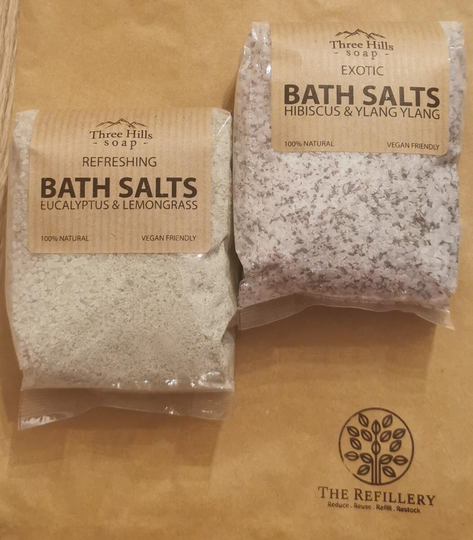 Three Hills Bath Salts 250g