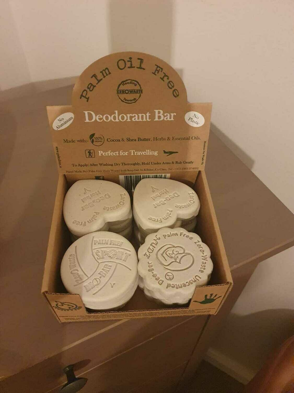 Palm Free Deodorant Bars