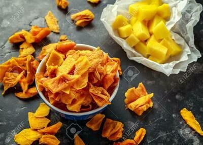 Dried Mango Chips 100g