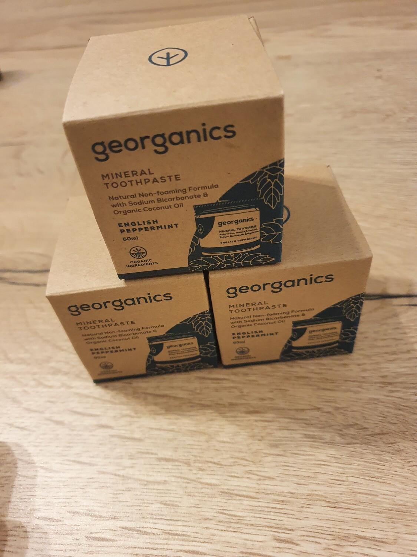 Georganics Mineral Toothpaste 60ml Peppermint