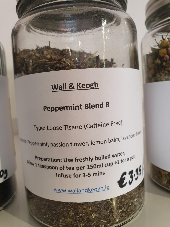 Wall & Keogh Peppmint Blend Loose tea per 50g