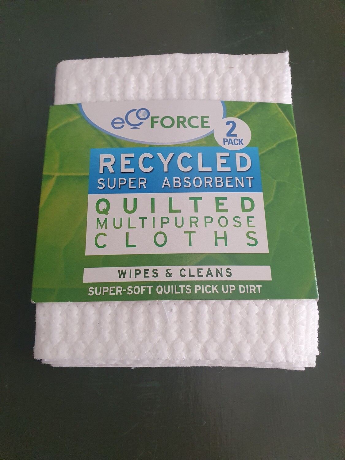 Ecoforce 2 pack Recycled Cloths