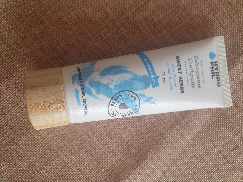 Hydrophil Toothpaste No Flouride