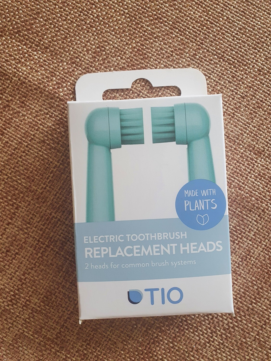 TIO Electric Toothbrush replacement heads