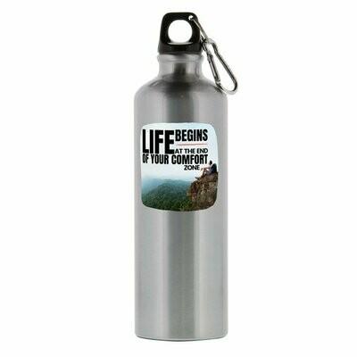 Life Begins Aluminum Bottle