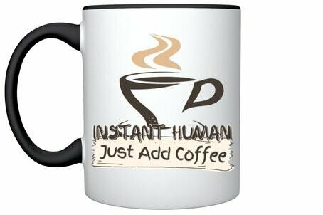 Instant Human Coffee Cup