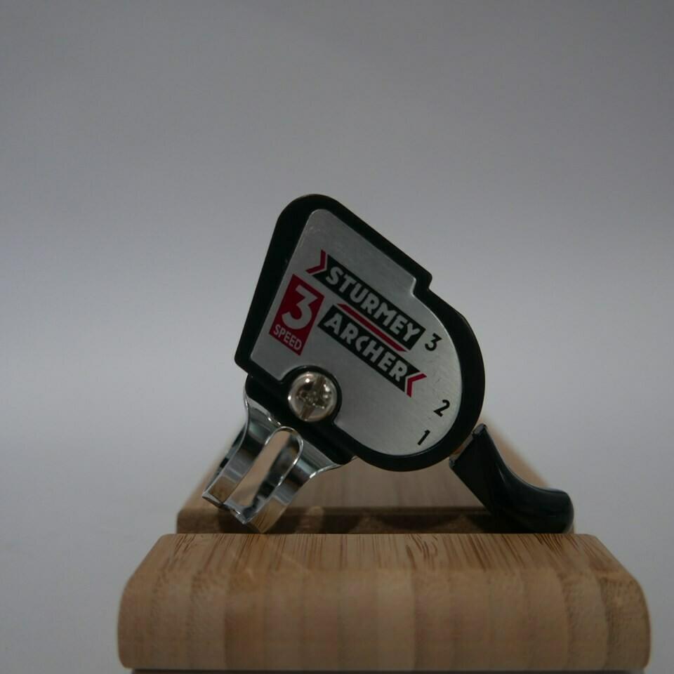 Brompton Bicycle Retro Classic 3 speed thumb shifter handlebar (Sturmey Archer)