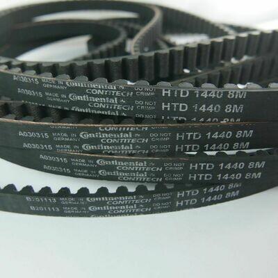 Strida Folding bike Belt Refill Replacement HTD 1440 8M (Continental Belt)