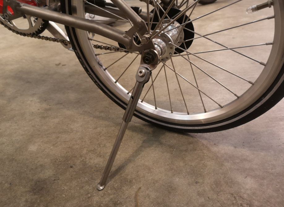 Brompton Titanium+Alumium Strong Lightweight Kickstand (Suncord)