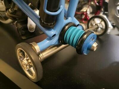 Chubby Colour Rear Shock for Brompton