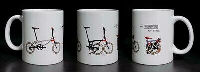 Limited & Special Chronicle Series Coffee Mug  (AKING)