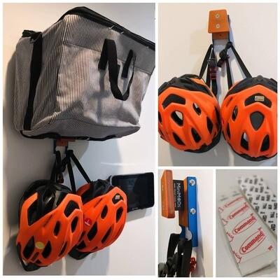 Brompton Bag Helmet Wall Hanger (MiniMODs)