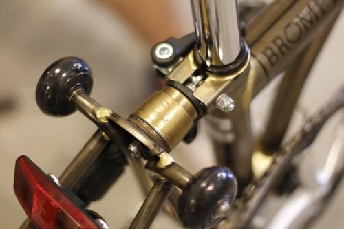 Premium Brass Rear Shock for Brompton (Multi-S)