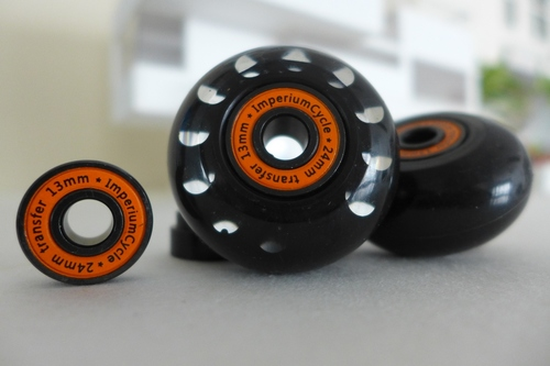 Multi-S inward offset easy wheels for Brompton (one pair)