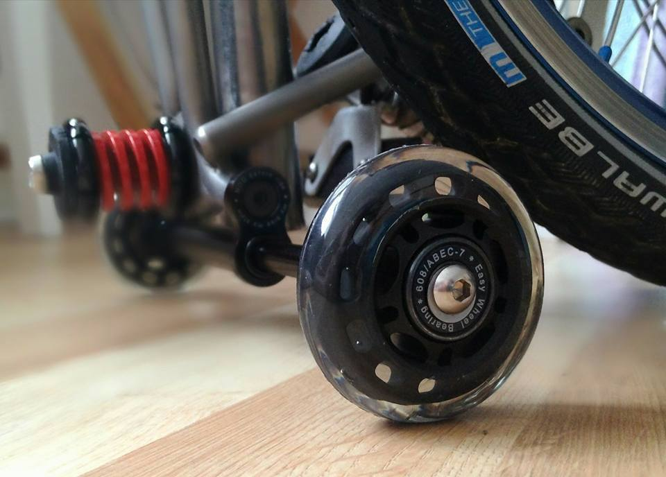 Multi-S BM Large CarryMe ORI PU easy wheels with bearing v.2