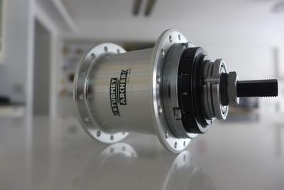Brompton 5 speed IGH upgrade kit S-RF5 (W) 28H (Sturmey Archer)