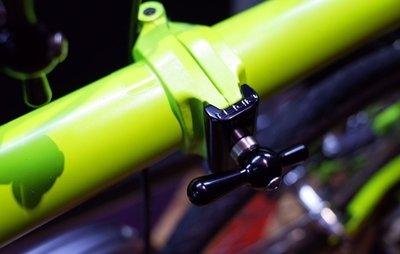 Brompton clamping folding hinge solution  (RIDEA)
