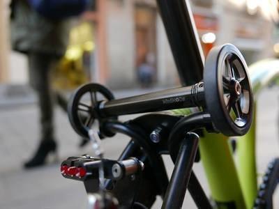 Brompton X-Roller Easy wheel Extender AL7075 Strong Alloy (V.3)