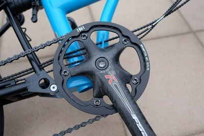 Brompton Drive Schlumpf Compatible 40T/56T Chainring w Cover BCD130 (H&H)