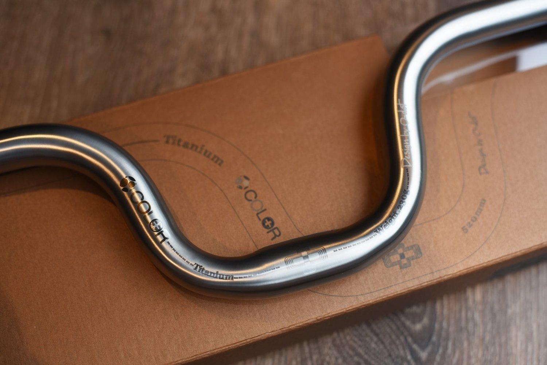 BROMPTON Premium Titanium Handlebar M bar (COLORPLUS)