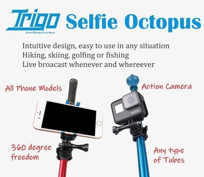 Trigo Selfie Octopus Easy Camera Phone mount