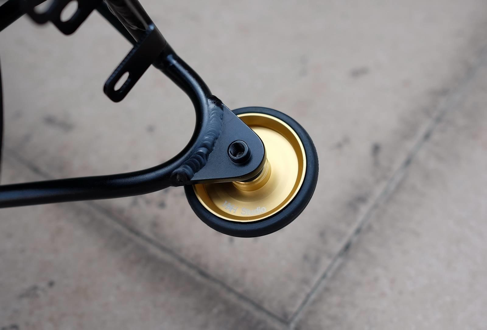 ezwheels Bearing easy wheel Brompton Birdy CarryMe Lightweight Aluminum Q 45mm