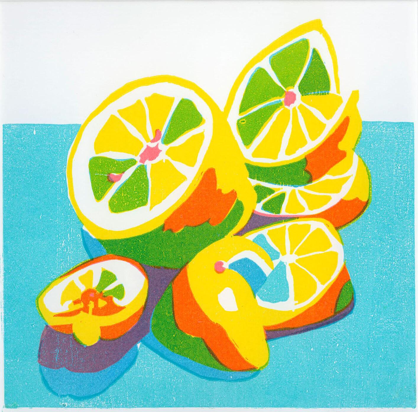 Lemons - Greetings Card