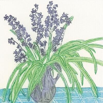 Bluebells - Greetings Card
