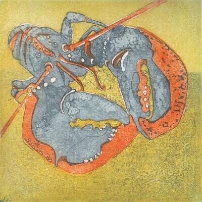 Lobster Greetings Card