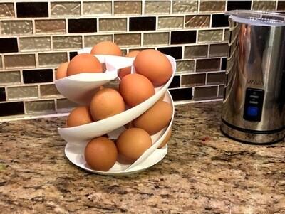Dispenser voor ongeveer 18 eitjes, kerstomaatjes enz...