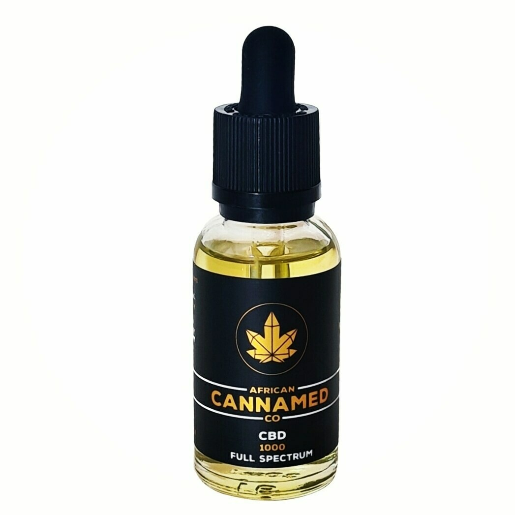 African Cannamed CBD Tincture Full Spectrum (less than 0.03% THC)