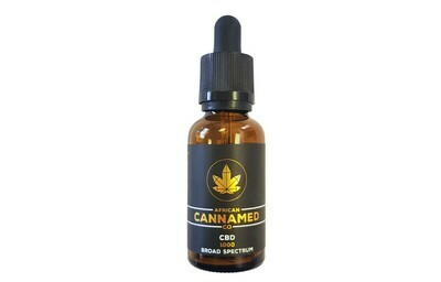 African Cannamed CBD Oil  (Broad Spectrum)