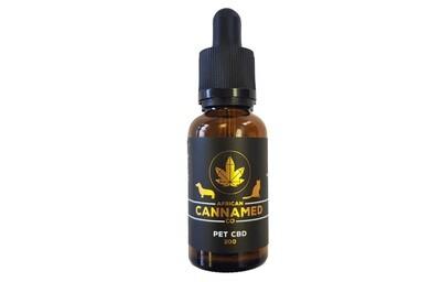 African Cannamed CBD Pet Oil Zero THC