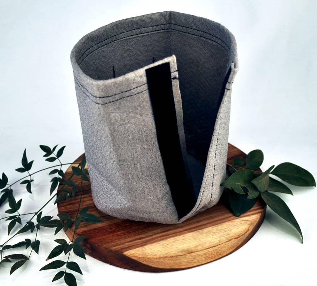 Plantmatter 2lt Grow Bag w/Velcro
