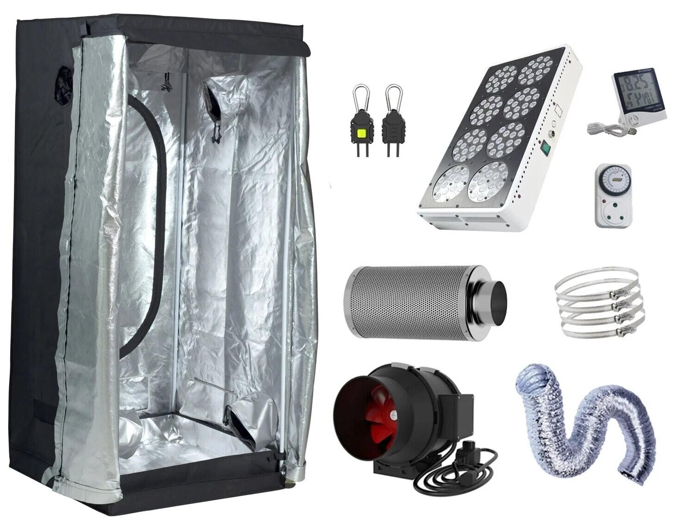 80 x 80 cm, 360W Apollo 8 LED