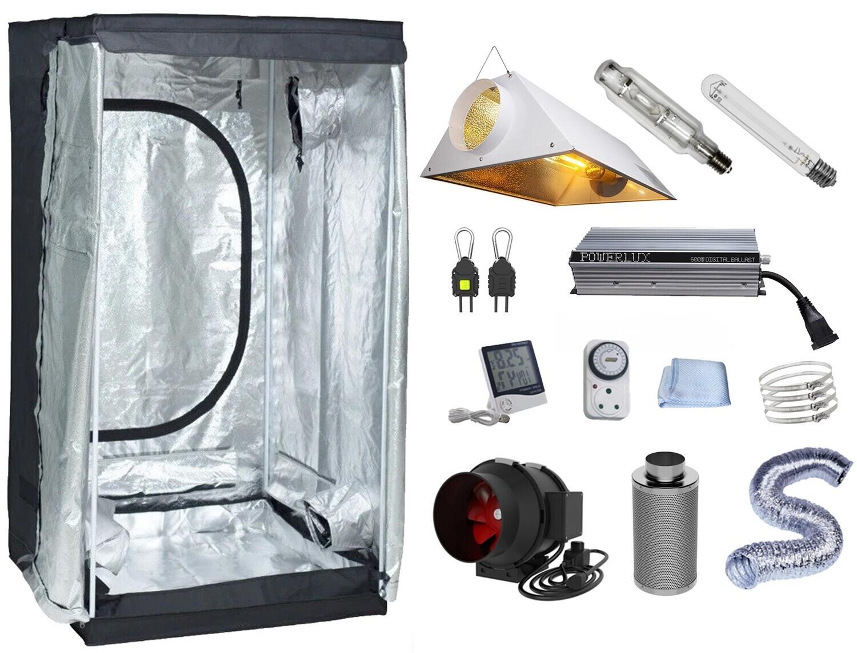 100 x 100 cm, 600W HID Air-Cooled